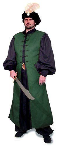 Vizier's Coat.. Wizard w/ dark sparkly colors?