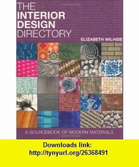 Interior Design Directory 9781844007097 Elizabeth Wilhide ISBN 10 184400709X