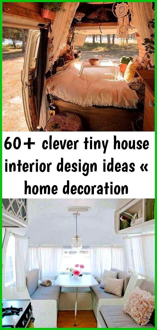 clever tiny house interior design ideas  home decoration 60 Clever Tiny House Interior Design Ideas