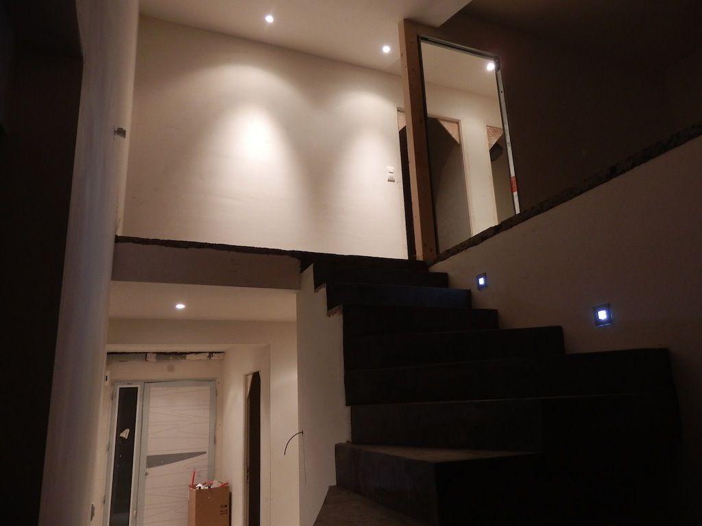 Dégagements (spots) Escalier (LED) - Construction maison ...