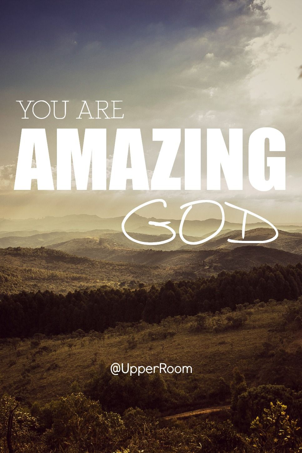 We serve and are loved by an amazing God. And he can do amazing things for you AND through you.