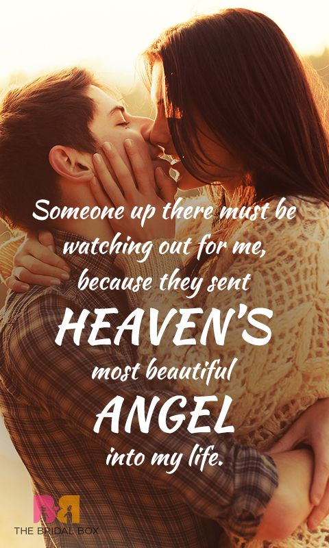 Make her feel special by letting her know that you really care and that she is all that matters to you in this whole world, with these 10 truly romantic true love quotes for her!