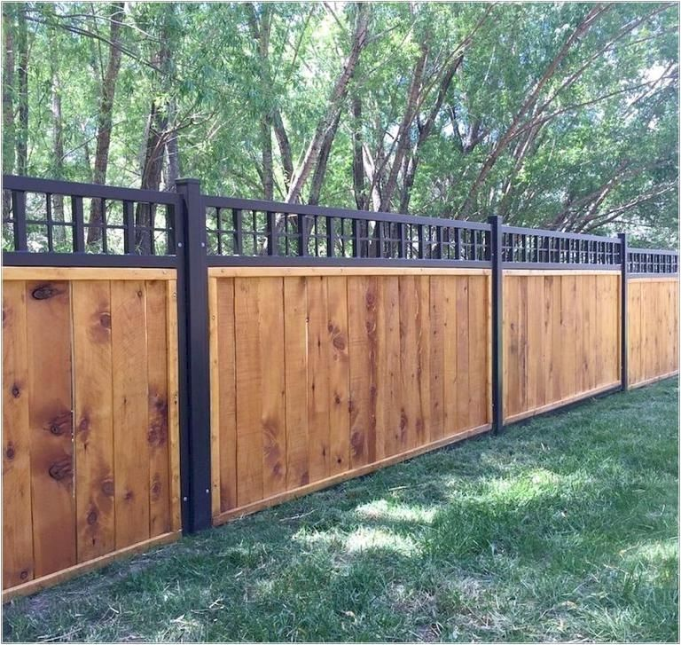 32 Easy And Inexpensive Privacy Fence Design Ideas In 2020