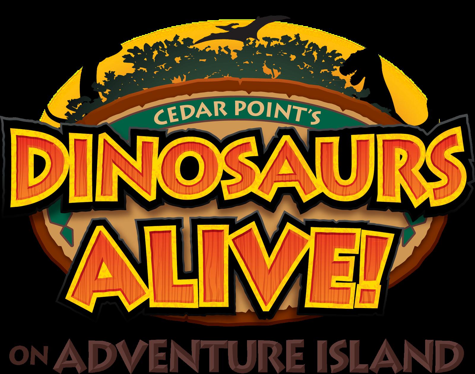 Amusement Attraction Dinosaurs Alive At Cedar Point Dinosaurs Alive Kings Island Cedar Point