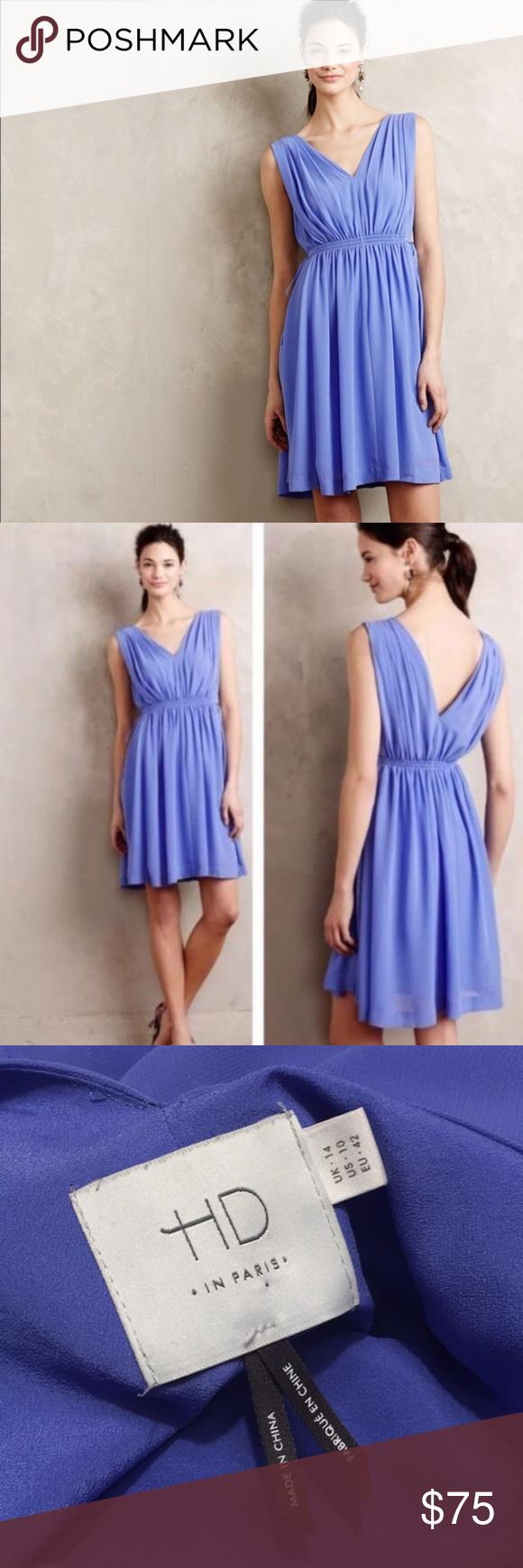Anthro HD in Paris Grecian Dress | Lavender dresses, Lavender color ...