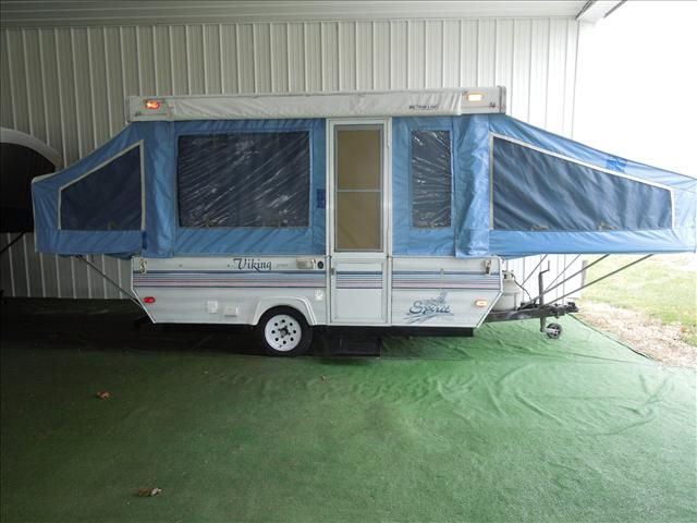 1993 Viking Spirit Sp190 Vikings Tent Trailer Recreational