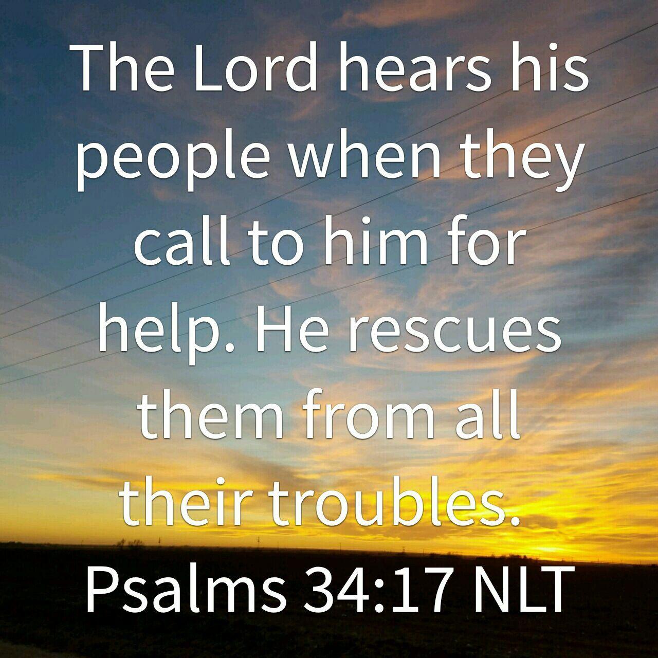 Psalm 34:17 | Scripture verses, Psalm 34 17, Psalms