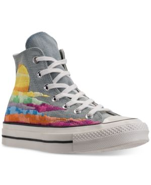 bdd8fbf097bf Converse Women s Chuck Taylor All Star 70 High-Top Mara Hoffman Casual  Sneakers from Finish Line - Blue 8