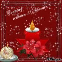 Einen schönen 1. Advent! - 1. Advent bild #6321 - GBPicsOnline.com #1adventbilder