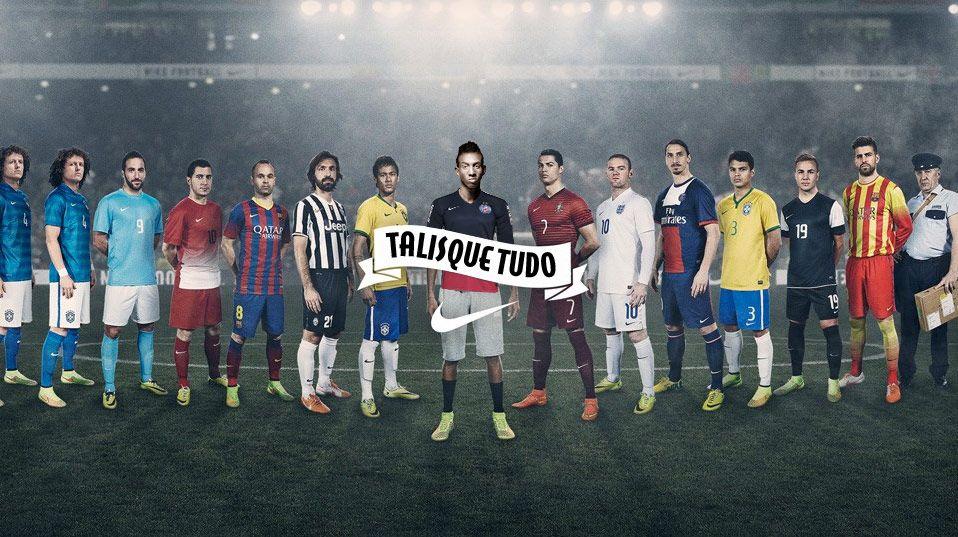 Talisque tudo Futebol, Nike, Nike futebol