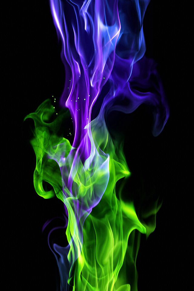 What Color Is Your Inner Fire Smoke Art Fire Art Flame Art
