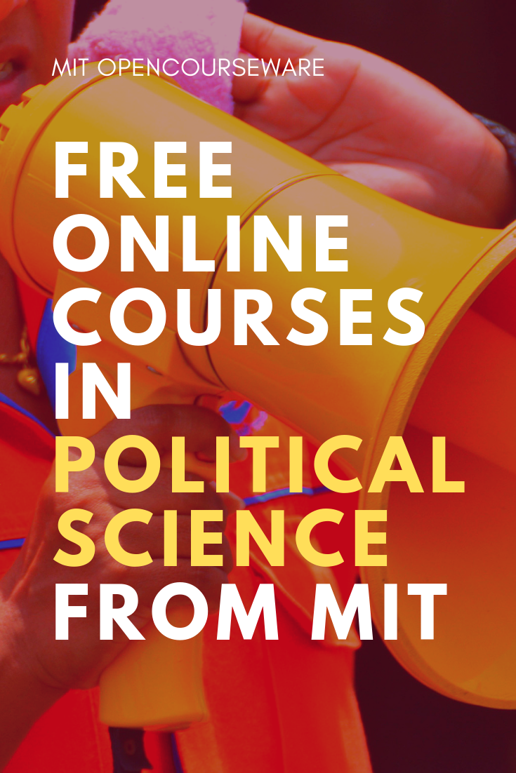 Political Science   Free course materials from MIT   Online Courses