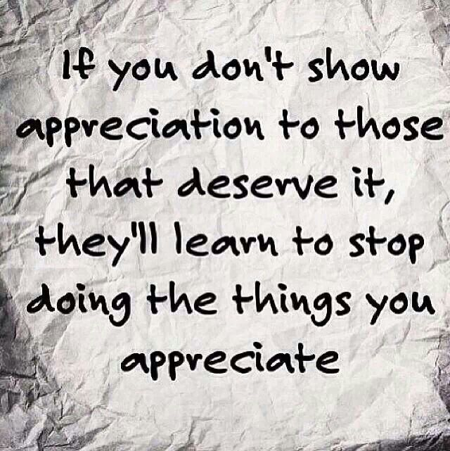 Appreciation Quotes Cool Quotes About Lack Of Appreciationquotesgram  Quotes