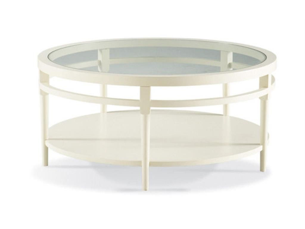 CTH Sherrill Occasional Round Cocktail Table 356 830 66