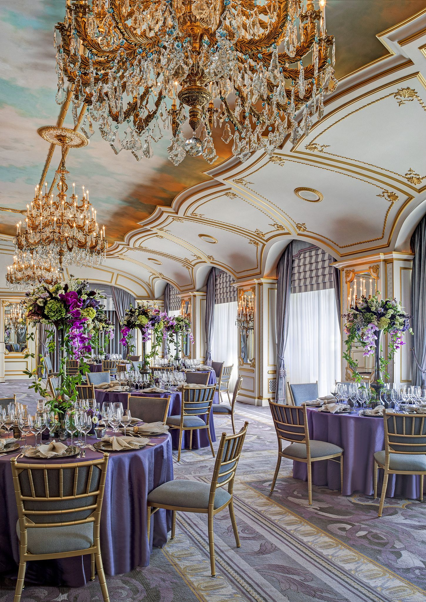 The Ballrooms Is Grand For Large Events We Feature A