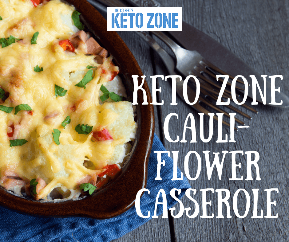 Keto Zone Cauliflower Casserole Zone Diet Recipes Diet Doctor Recipes Zone Diet