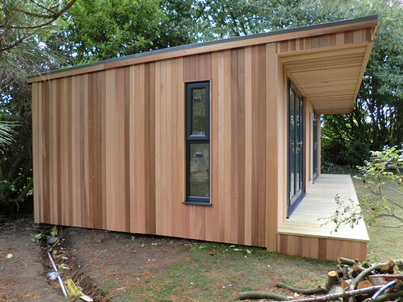 western red cedar external timber cladding - External Cladding For Houses