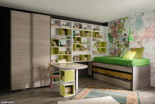 Camas juveniles compactas muebles dormitorios for Camas compactas juveniles