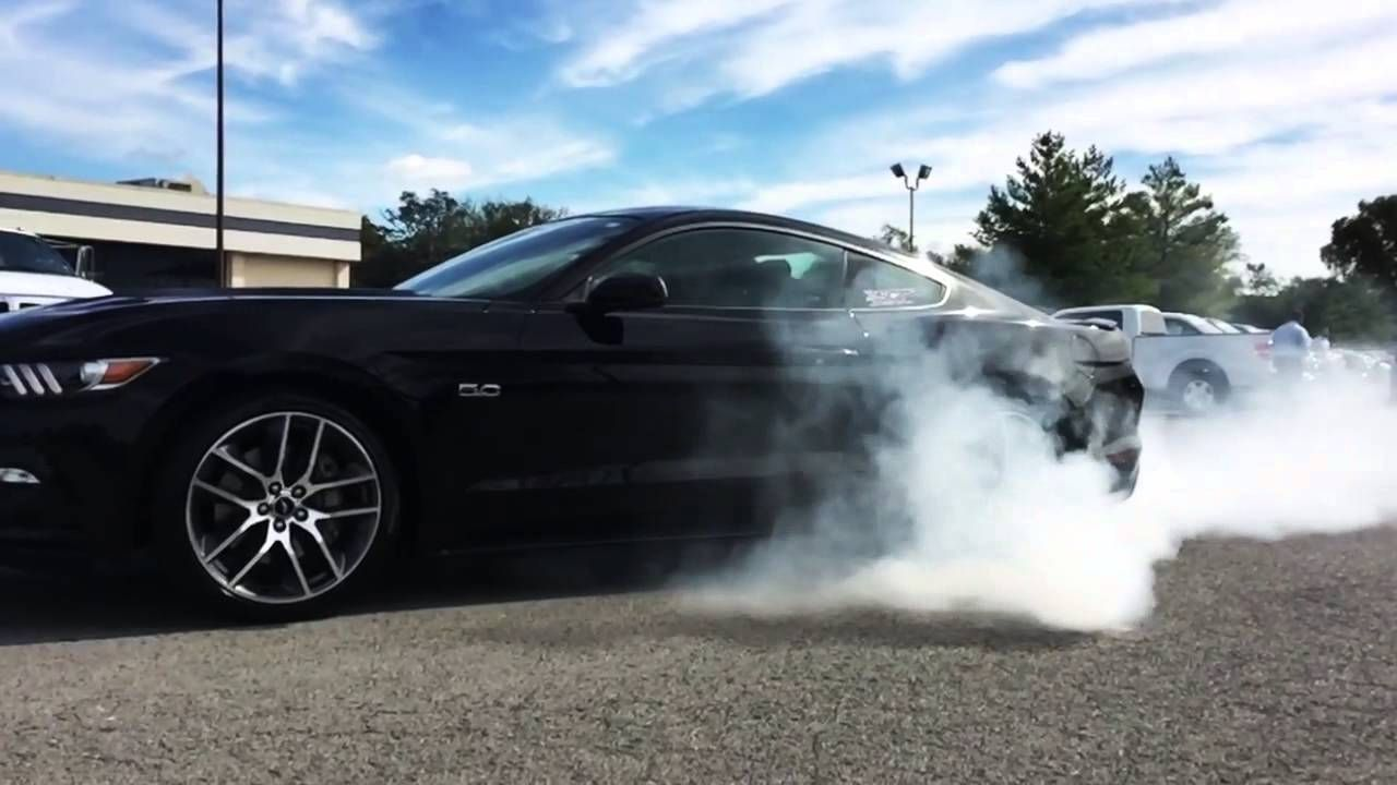 Mustang Gt Burnout By Sct Performance Ford Of Murfreesboro