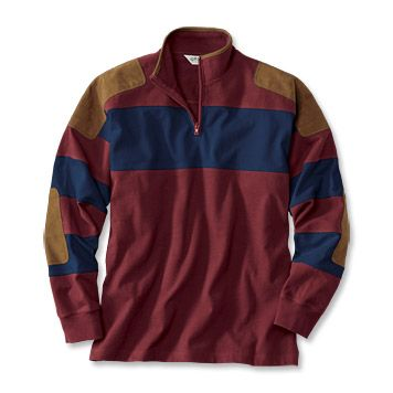 Just found this Mens Outdoor Shirt - Long-Sleeved Football Jersey -- Orvis on Orvis.com!