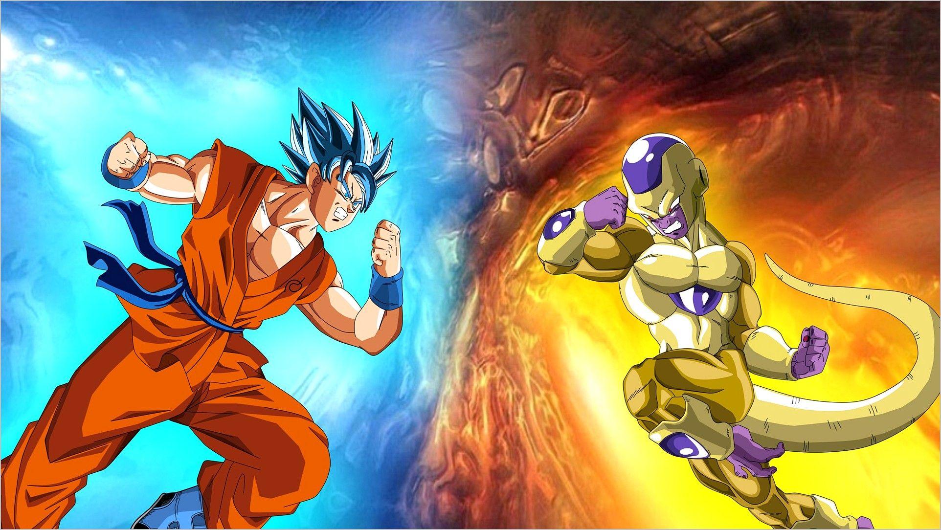 Goku Vs Frieza Wallpaper 4k Goku Vs Goku Vs Frieza Goku