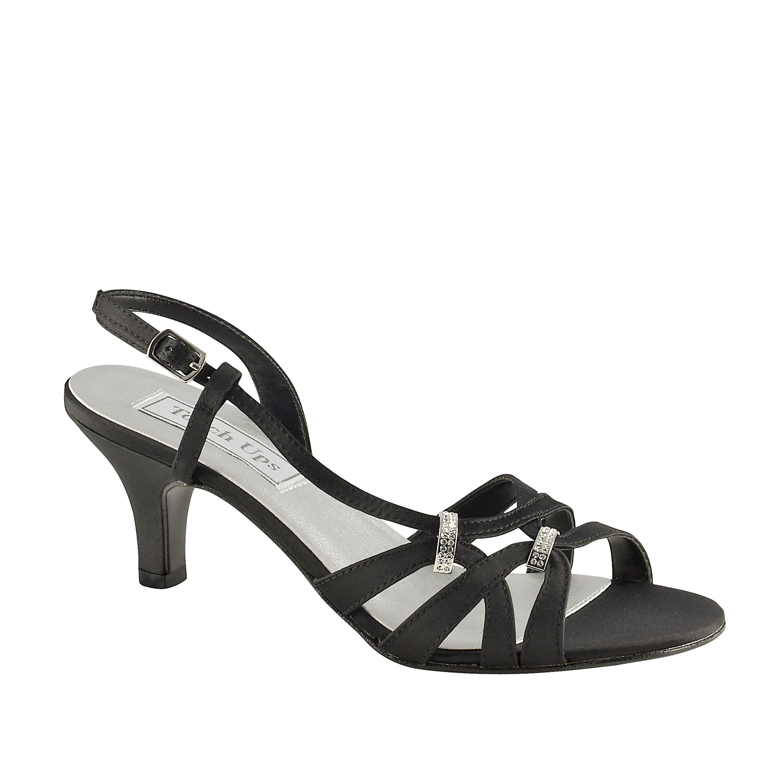 Touch Ups Women's White Sandal Wide Width