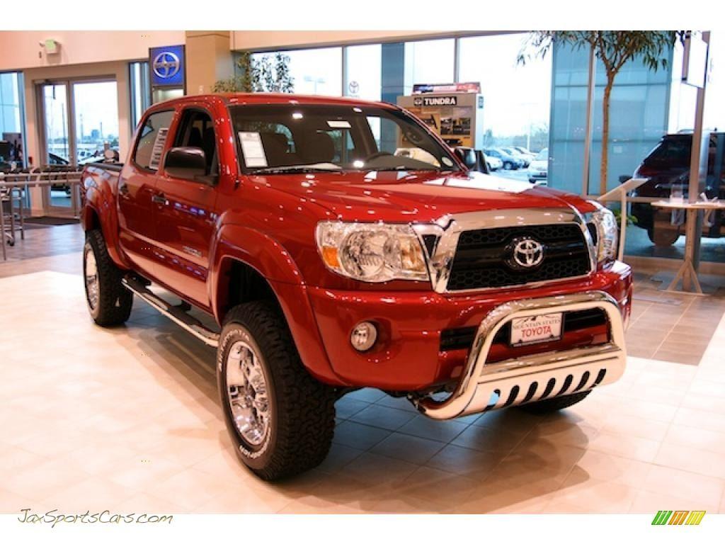 Red 2008 Toyota Tacoma Sr5 4 Door 4x4 2011 Tacoma V6 Sr5 Double Cab 4x4 Barcelona Red Metallic Graphit Toyota Tacoma 2011 Toyota Tacoma Toyota Tacoma Sr5