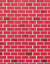 This Red Brick Flat Paper Will Transform Your Walls Into A