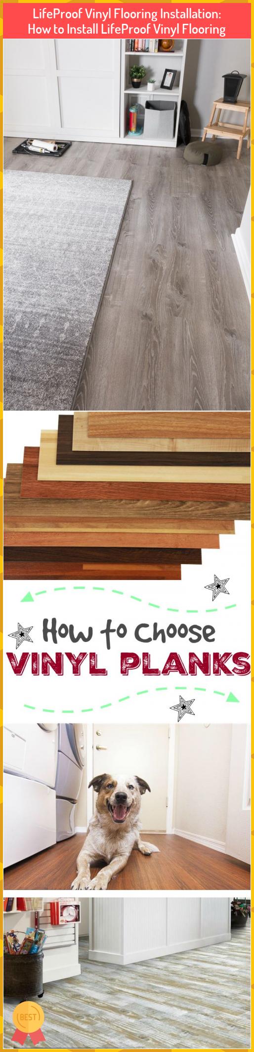 LifeProof Vinyl Flooring Installation How to Install