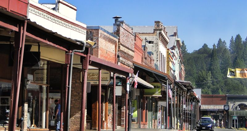 Downtown Grass Valley Ca I Miss Living There So Much It 39 S Been 8 Years Since I 39 Ve Been Here