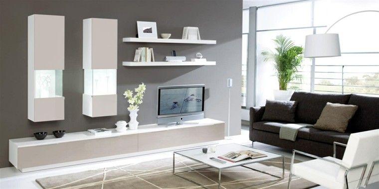 Muebles para tv, 50 propuestas creativas y modernas muebles para