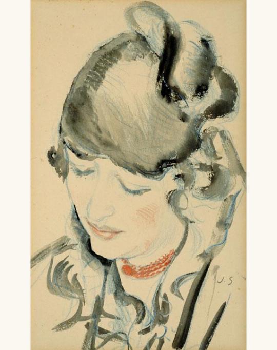 Portrait de Jeune Femme - Jan Sluyters