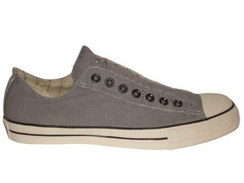 Converse Chuck Taylor John Varvatos All Star Textile Vintage Slip Pewter Grey