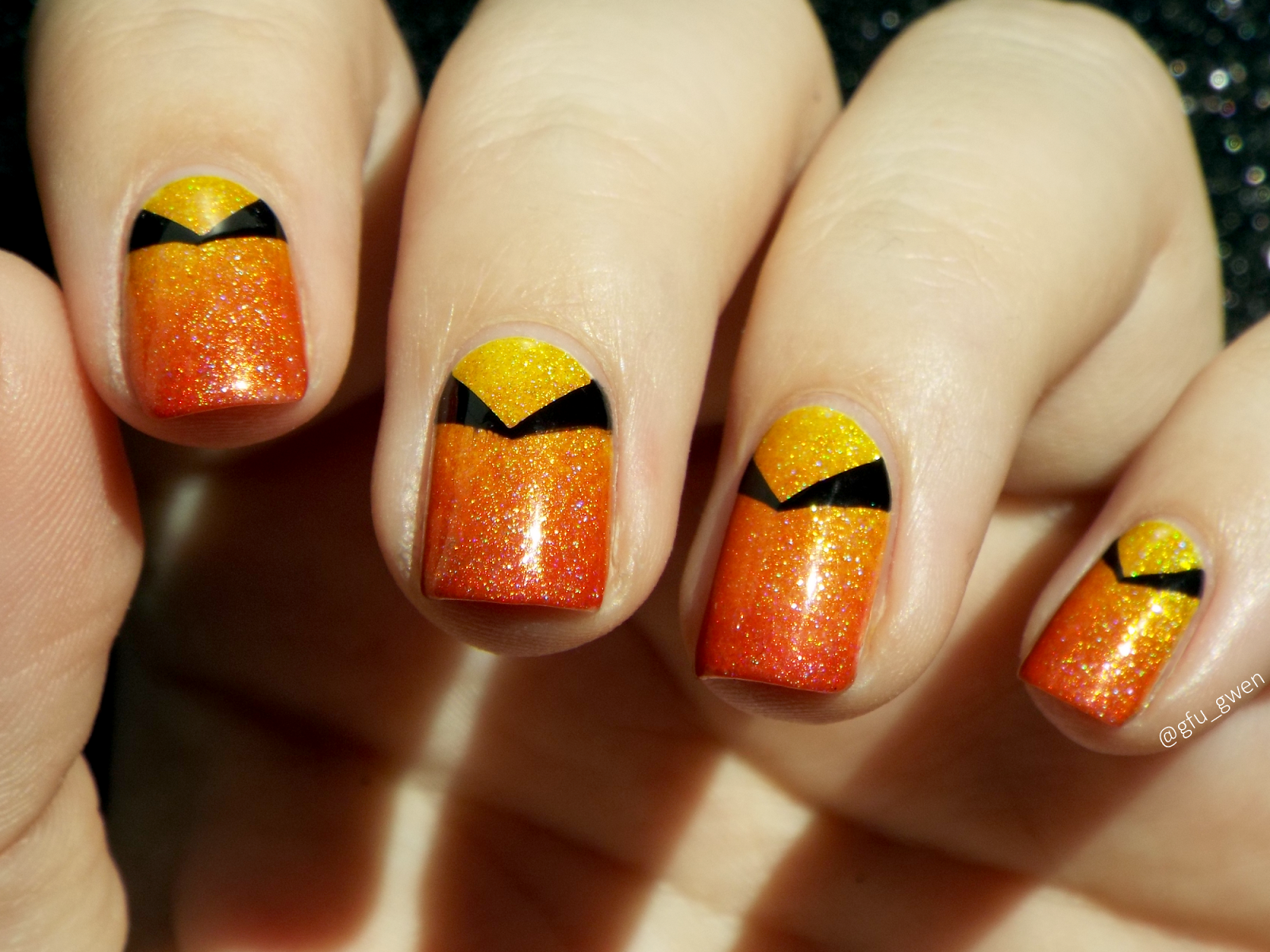 Inspired By Tracer From Overwatch Video Paint It Black House Of The Rising Sun May 2017 February Monthly Monthlies Enchanted Polish Ep