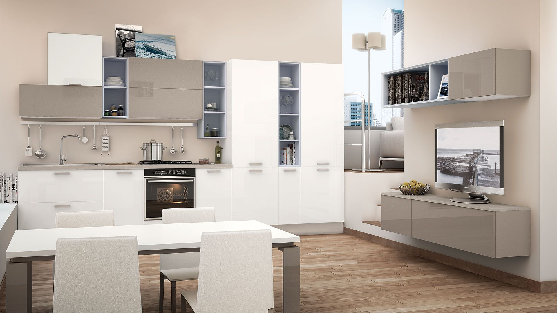 Noemi - Cucine Moderne - Cucine Lube | Expo | Pinterest