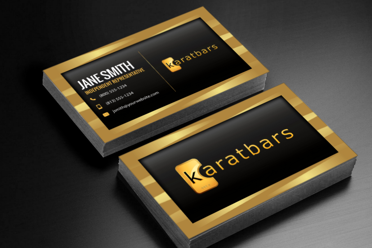 Karatbars Business Cards Free Shipping Karatbars Luxury Business Cards Free Business Cards