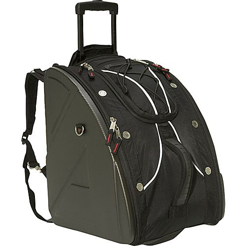 Click Image Above To Buy  Athalon Molded Wheeling Boot Bag - Platinum 67b08e99c0cf3