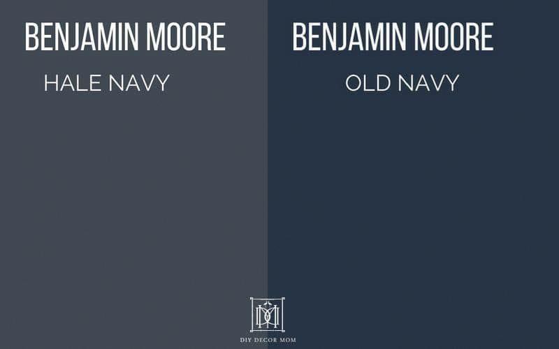 Benjamin Moore Hale Navy: The Classic Navy Paint Color #bedroompaintcolors #halenavybenjaminmoore