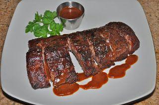 Chef Jd S Comfort Cuisine Half Rack Of Baby Back Ribs With Jujube Bbq Sauce Baby Back Ribs Bbq Sauce Cuisine