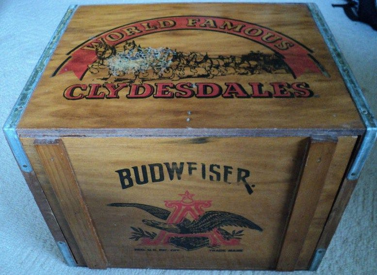 Budweiser Store Anheuser-Busch Collectibles | ... sought after pieces of Budweiser memorabilia is old barware signage