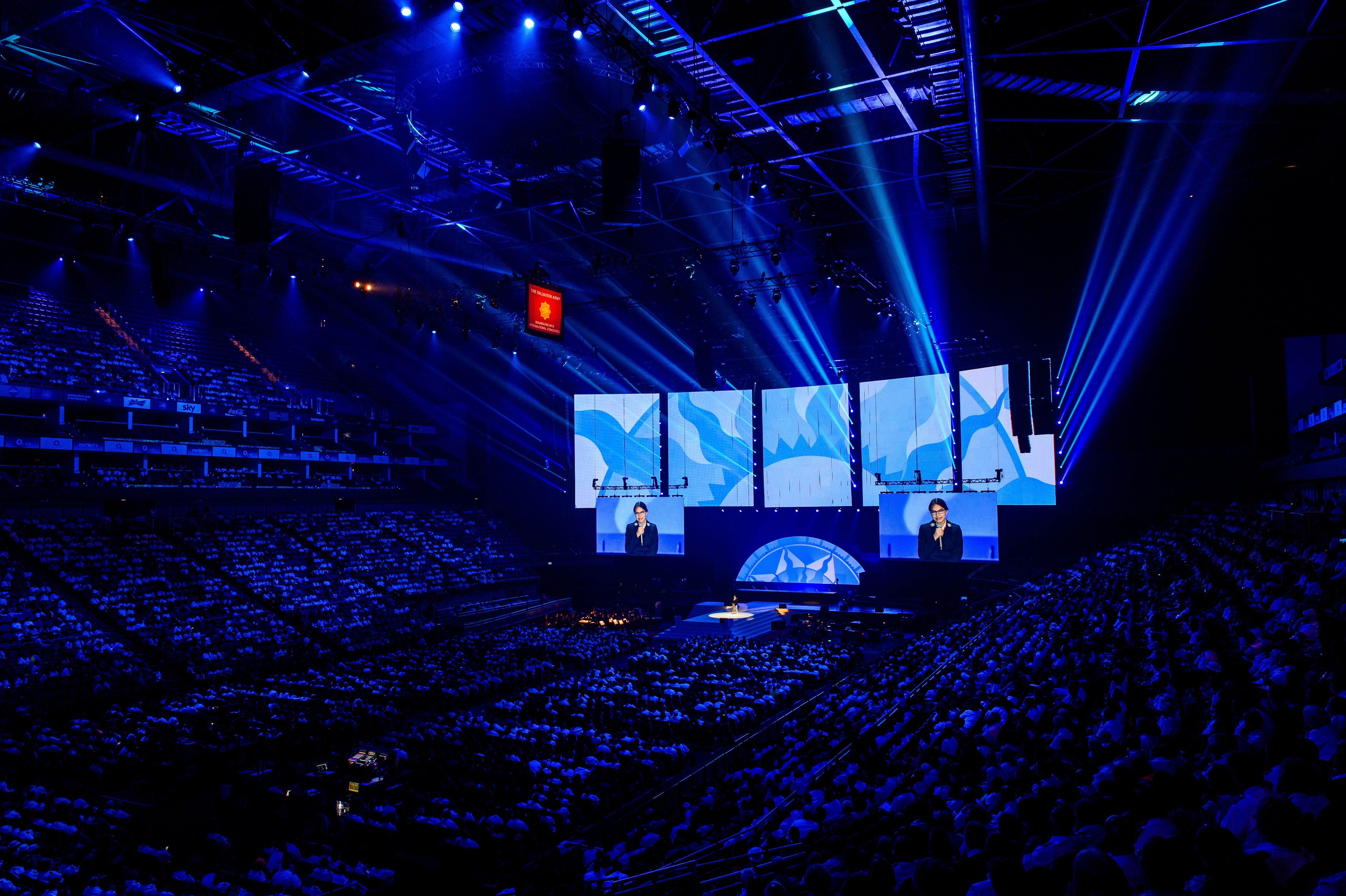 Salvation Army's 150th Anniversary at London's O2 Arena