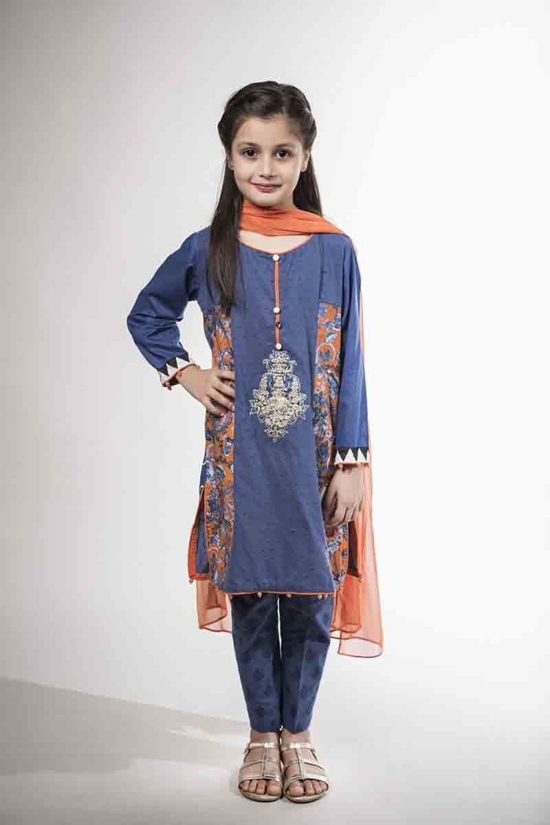 Maria b kids party dresses for wedding in girls outfits