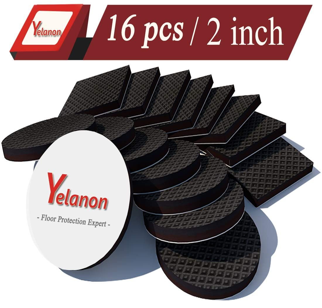 Non Slip Furniture Pads 16 Pcs 2a Anti Skid Furniture Pads Stopper Self Adhesive Rubber Feet Furniture Pads Furniture Pads Skid Furniture Furniture Grippers