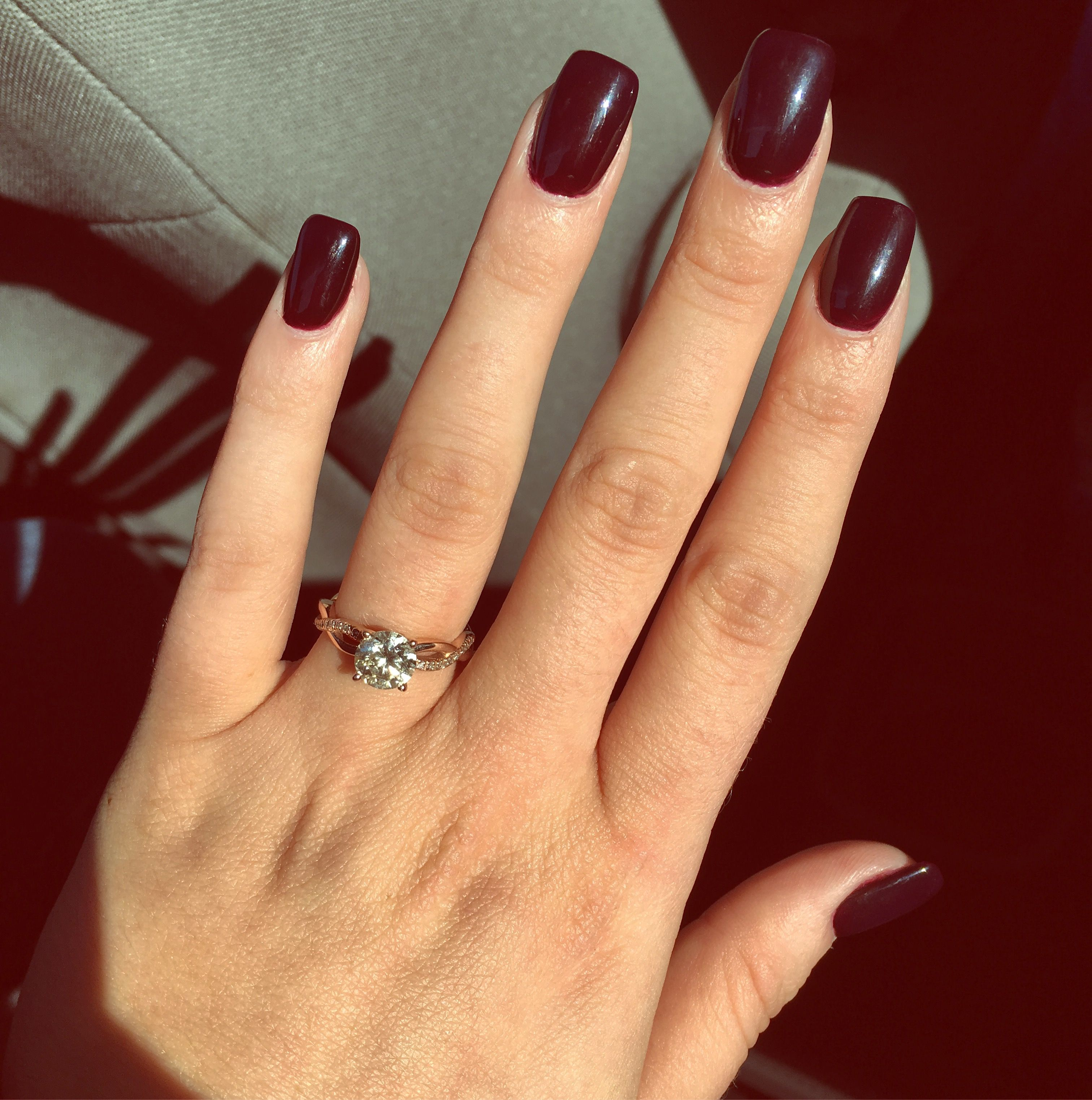 Color: Marilyn Merlot | Nails are kinda my thing | Pinterest