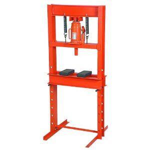 Amazon Com 12 Ton Hydraulic Shop Press Home Improvement Shop Press Hydraulic Shop Press Harbor Freight Tools