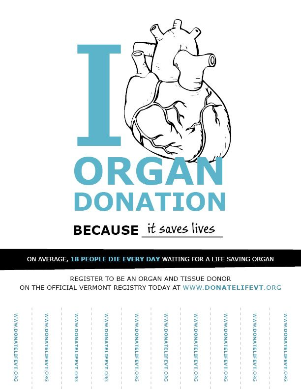 organ donation support What you need to do if you want to donate your organs, tissue or body after you die being on the nhs organ donor register helps to ensure this will happen.