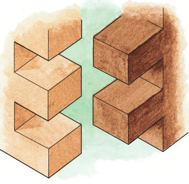 How to cut finger and box joints for simple projects with for Table joints