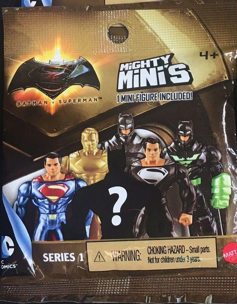 Mighty minis Justice League Movie Series 1 Blind Bags Mini Figures lot de 3