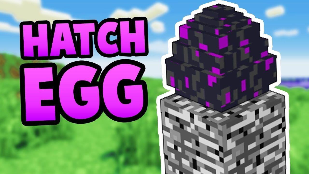 hatching dragon egg minecraft