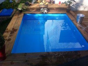 Mini Piscine En Bois 4 X 2 M 3500 Pool Jacuzzi Tub Plunge Pool